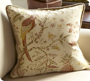 Pottery Barn pillows (on the cheap!) from Thrifty Decor Chick