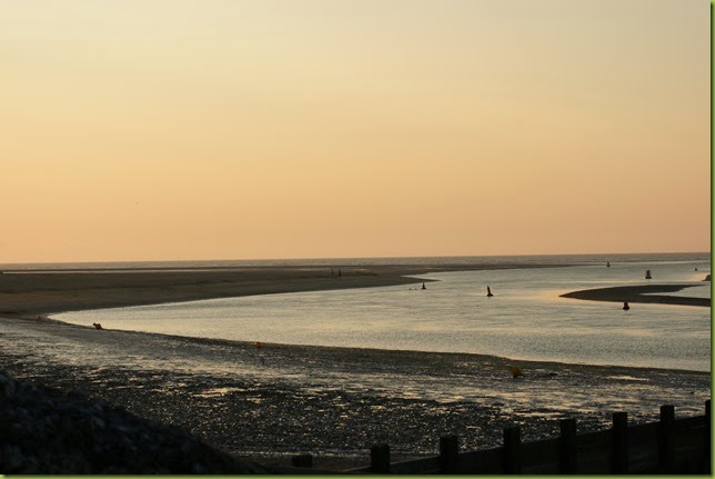 sunset at Wells-Next-The-Sea