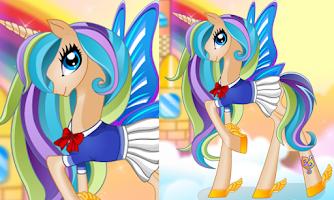 Screenshot of Pony Princess Hair Salon