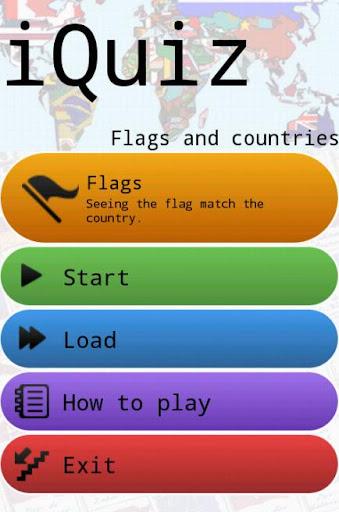 iQuiz banderas y países