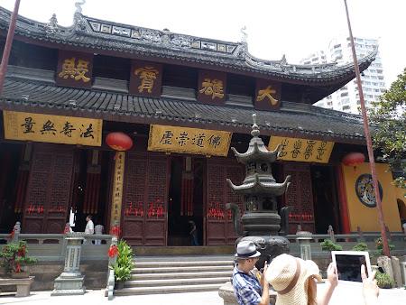 Obiective turistice Shanghai: templu chinezesc