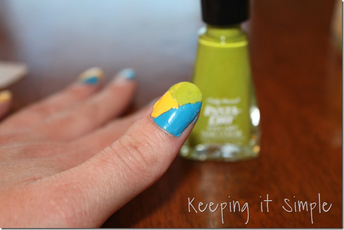 color blocking nails (12)