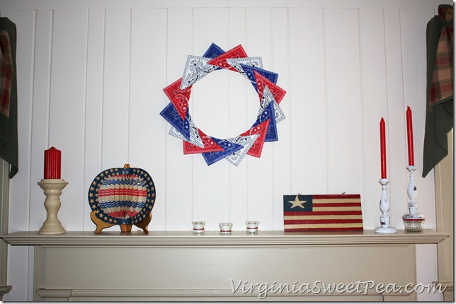 4th of July Mantel4