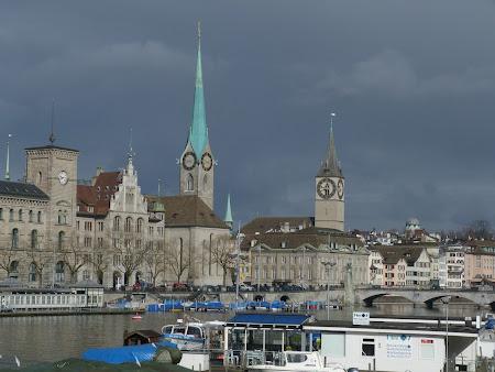 1. Zona centrala din Zurich.JPG