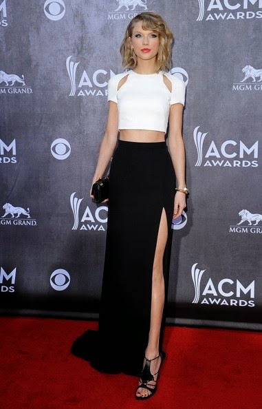 Taylor Swift Arrivals Academy Country Music