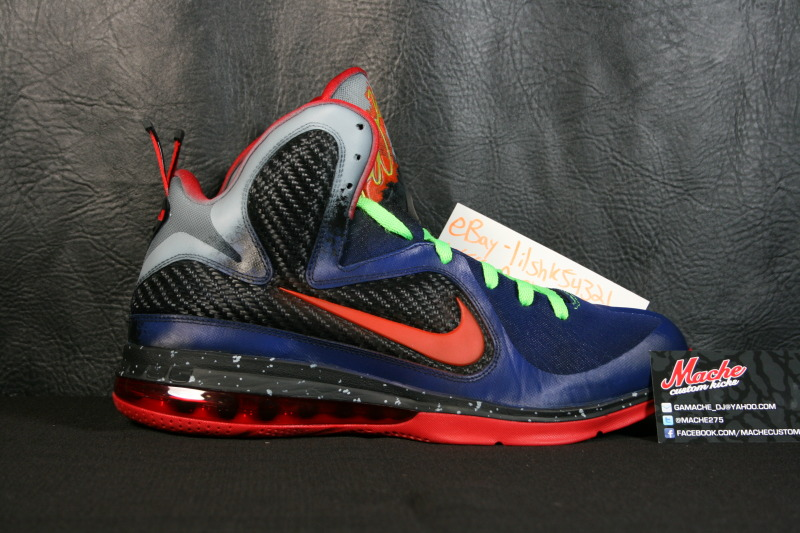 "Another Chance to Get Your LeBron 9 ""Nerf"" Custom Kicks ..."