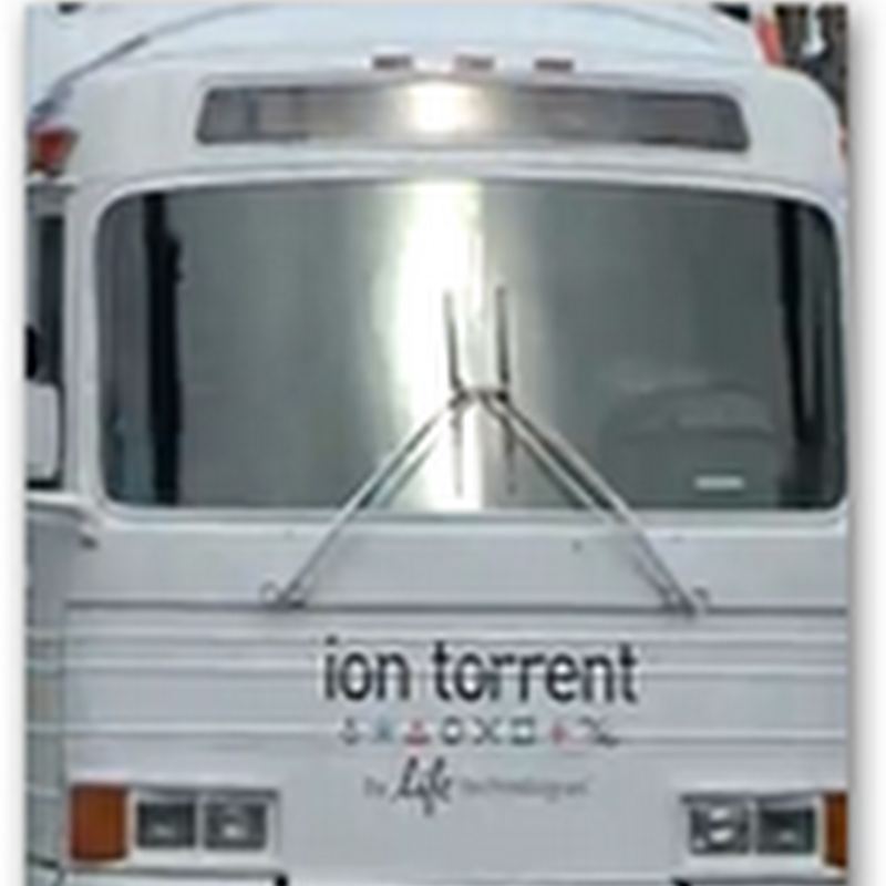 Sequencing on a Bus–Ion Torrent Desktop Sequencer On Tour in the US