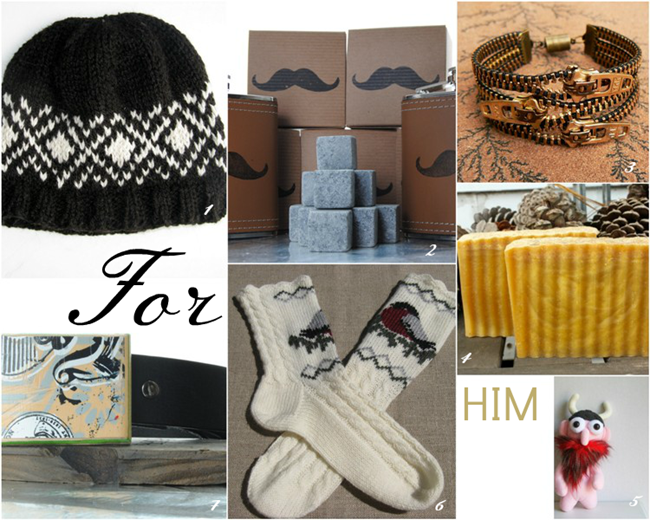 Handmade Holiday Gift Guide via homework | carolynshomework.com