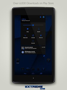 JB Extreme Blue CM12 CM11 v5.3
