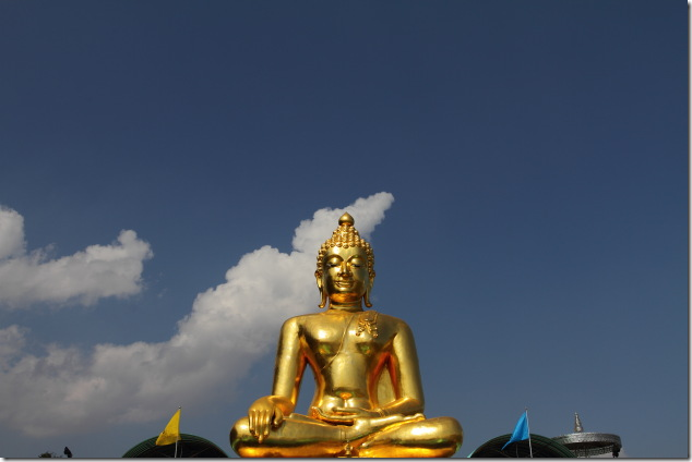 Large Buddha Statue at Golden Triangle, Thailand