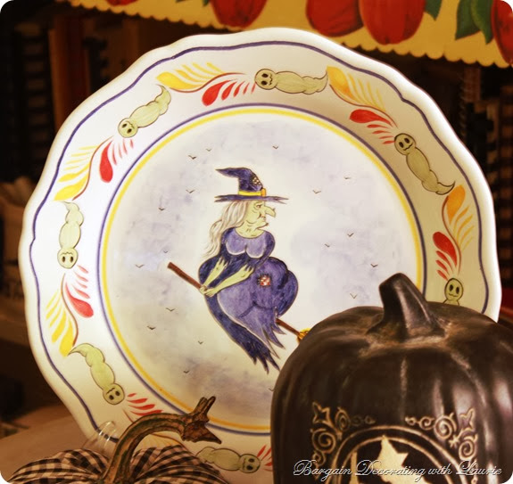 Halloween Quimper-Bargain Decorating with Laurie