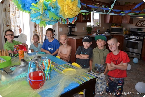 shark-party-guests
