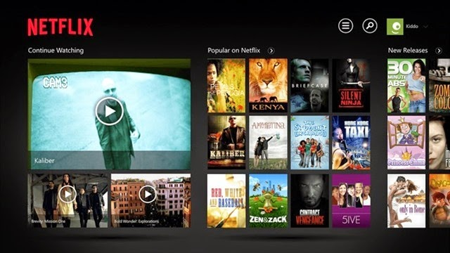 Netflix para Windows 10