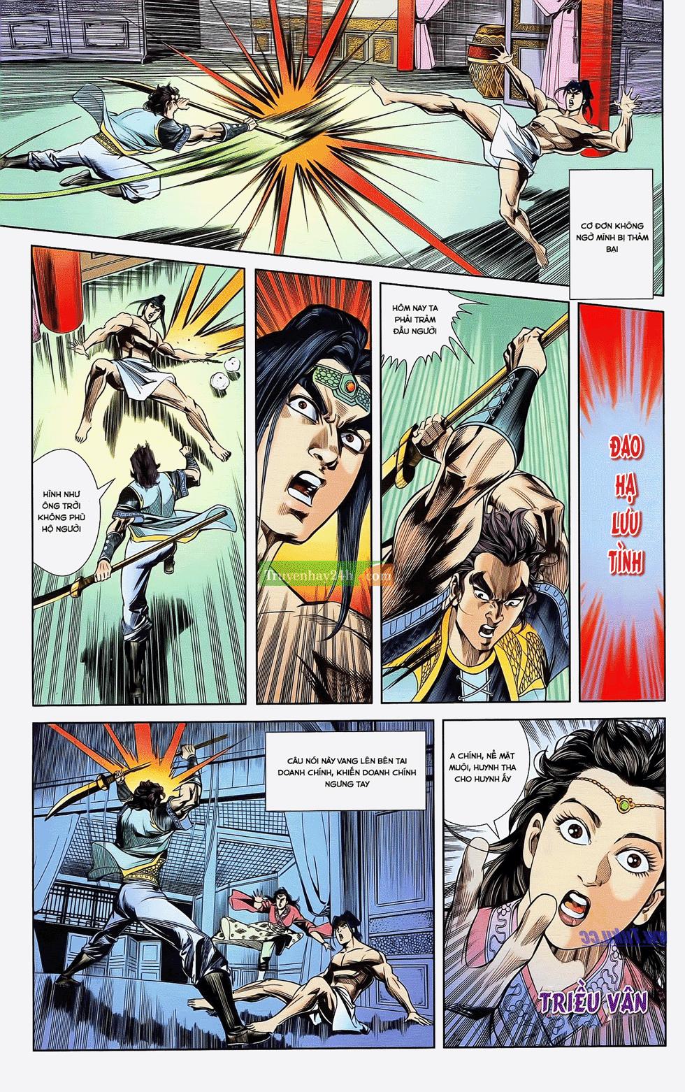 Tần Vương Doanh Chính chapter 22 trang 28