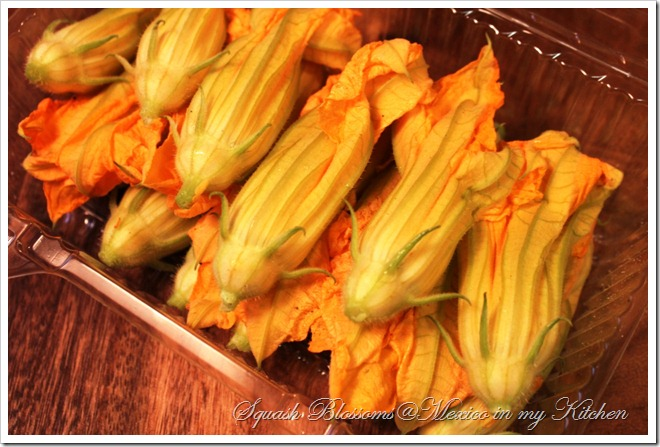 Squash Blossoms Quesadillas | Vegetarian Quesadilla Recipe