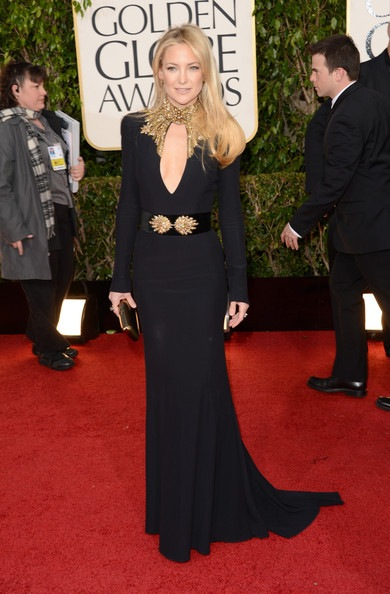 Kate Hudson arrives at the 70th Annual Golden Globe Awards