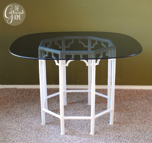 chinese chippendale metal table
