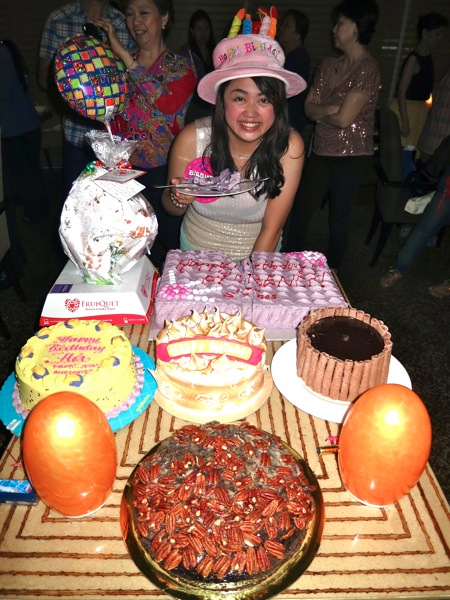 Costa Birthday Cake Design