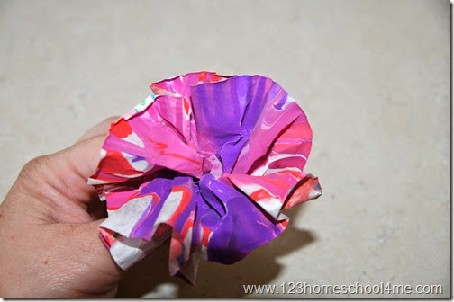 How to make a coffee filter flower