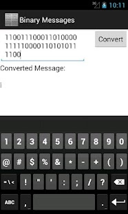 Binary Messages- screenshot thumbnail