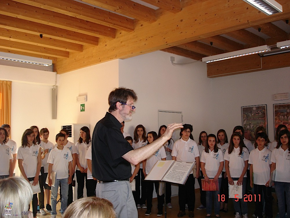 ALBUM FOTO DELL'IC RIVA 1 - A.S. 2010-11 - Il Coro Bonporti al Concorso corale