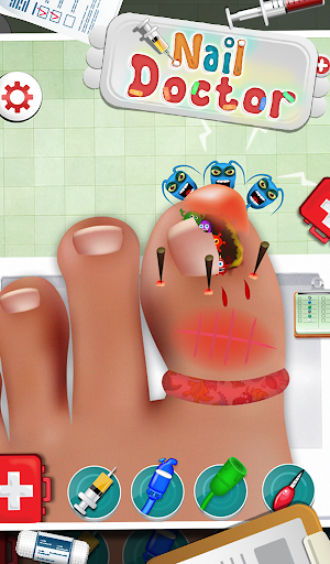 ネイルドクター - 子供向けゲーム