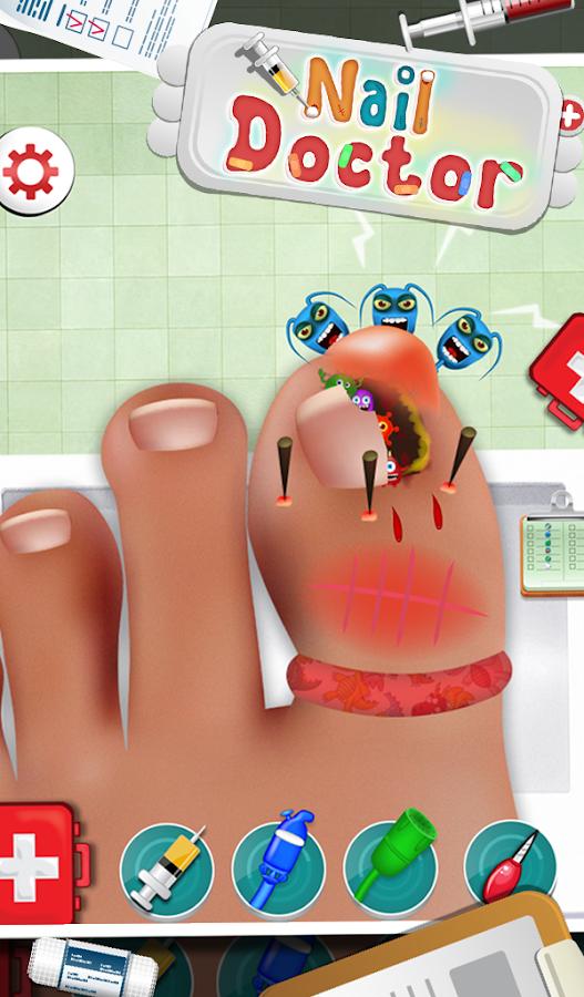 Nail Doctor - Kids Games - screenshot