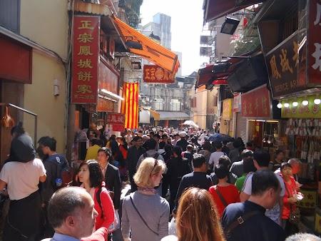 Turisti romani in Macao