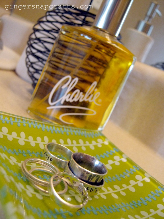 charlie perfume and ring dish
