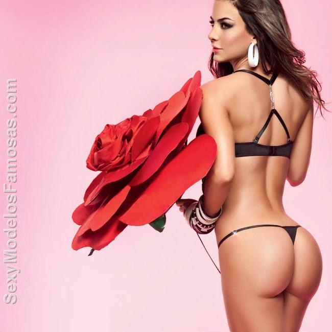 Natalia Velez Sexy Lenceria Besame Foto 28