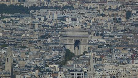 Obiective turistice Paris - Arcul de Triumf