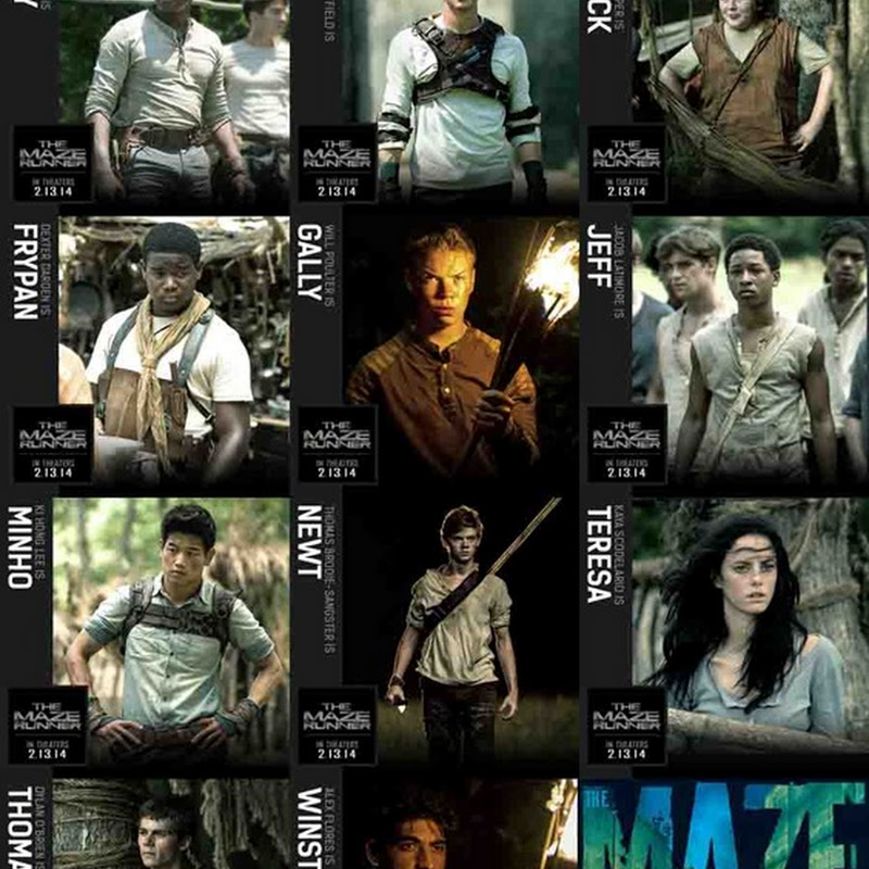 """THE MAZE RUNNER"" - synopsis, cast, photos"