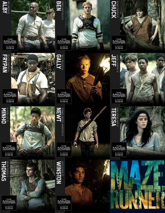 """THE MAZE RUNNER"" - synopsis, cast, photos - The Showbook"