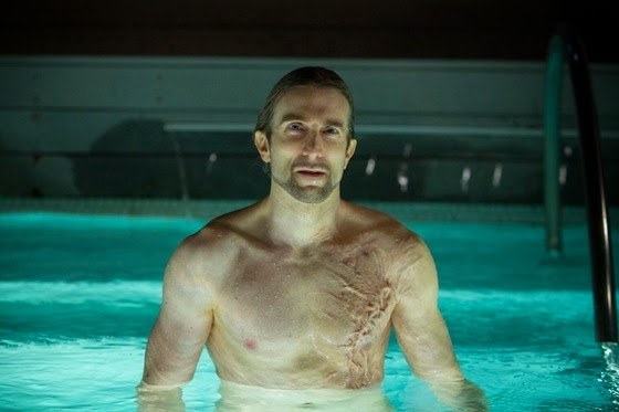 Sharlto Copley as Adrian in Oldboy
