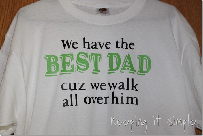 Father's Day Footprint shirt (8)