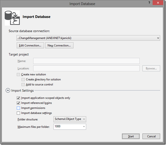 Creating a Database Project with Visual Studio 2012 | Anexinet