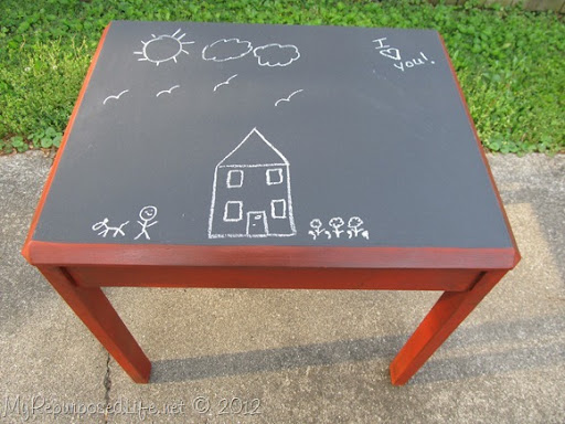Kids Chalkboard Table U0026 Chairs ...