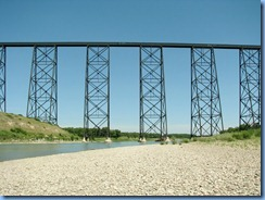 1687 Alberta Lethbridge - Helen Schuler Nature Centre - Oldman River & High Level Bridge