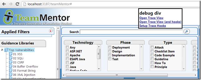 Dinis Cruz Blog: TeamMentor's Javascript-based Event Driven Architecture