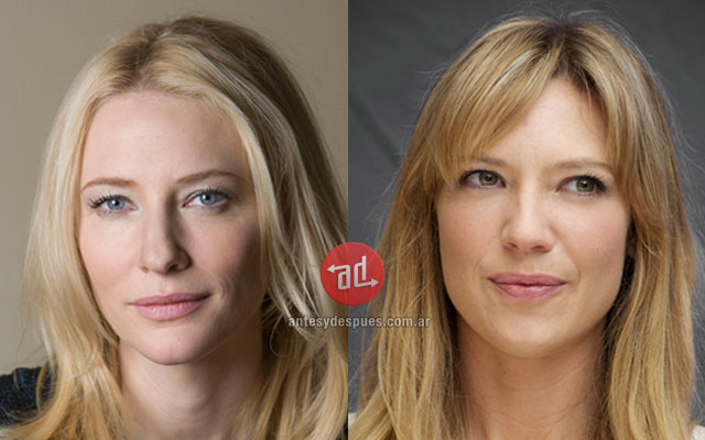 El parecido de Cate Blanchett Anna Torv