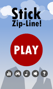 Stick Zip-Line Hero! Screenshot