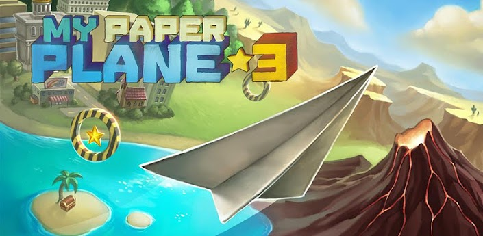 My Paper Plane 3 (3D) for HVGA,QVGA,WVGA Android Devices