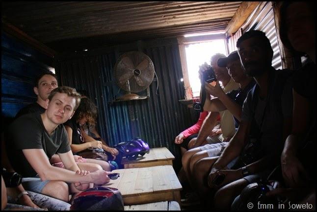 Mzimhlophe Hostel - shebeen