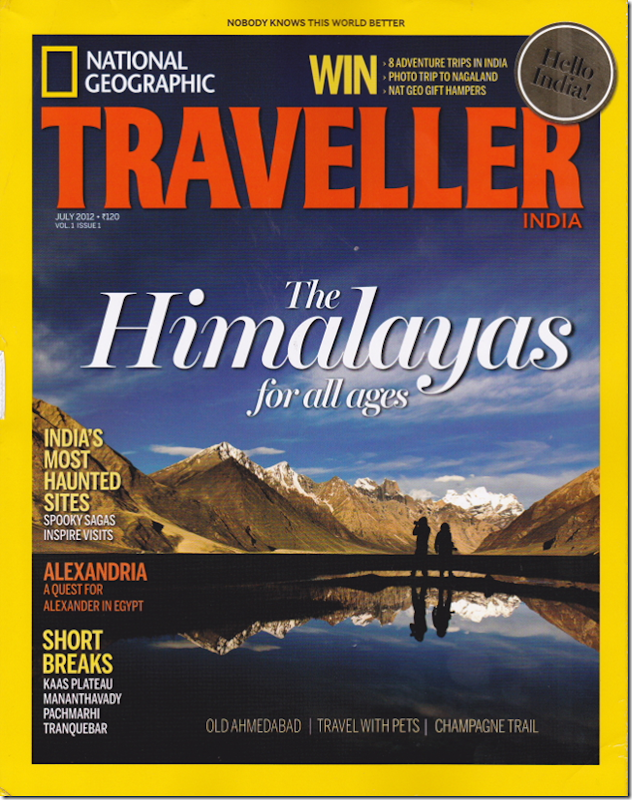 Nat Geo Traveller India - 1st Edition