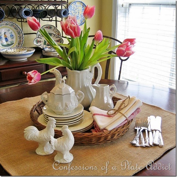 CONFESSIONS OF A PLATE ADDICT Ironstone and Tulips