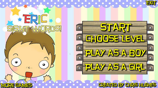 Eric's Sight Words