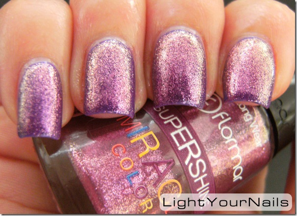 Flormar U15 over Essence Elves Like Lilac