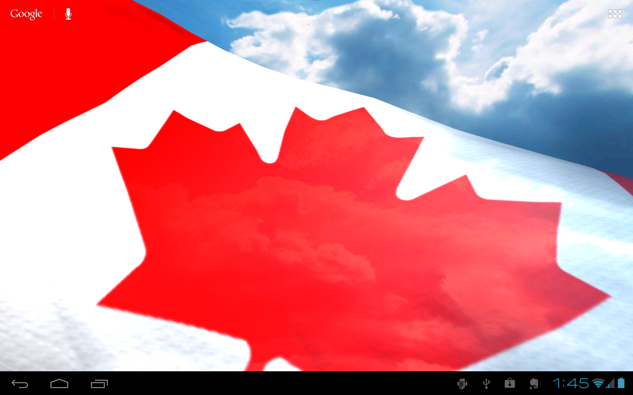 NA Flags Free Live Wallpaper - screenshot