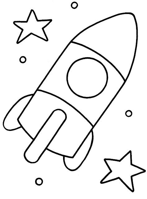 Colorear Dibujos De Naves Espaciales