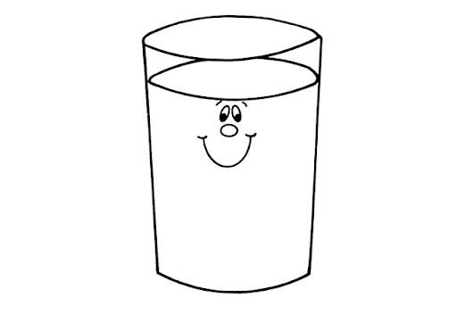 Dibujos Para Colorear De Un Vaso Con Agua Imagui